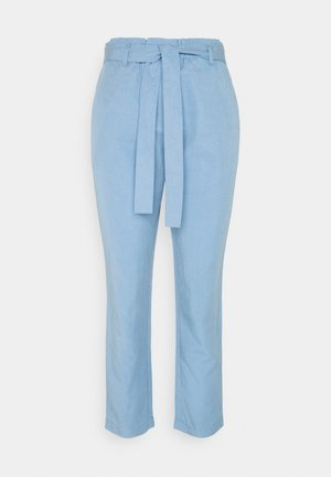 WOVEN PANTS - Trousers - washed cornflower