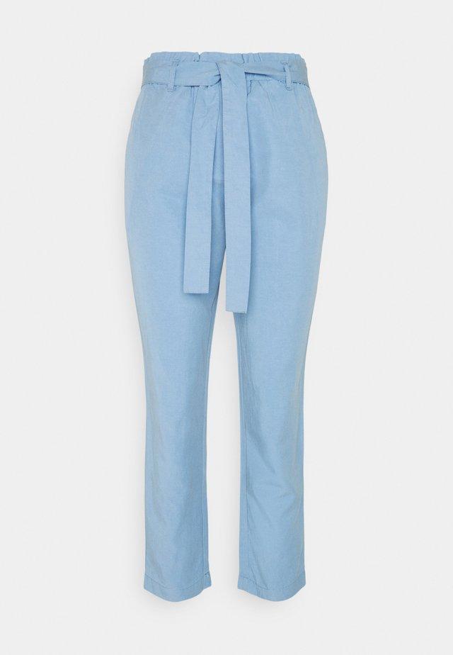 WOVEN PANTS - Pantaloni - washed cornflower