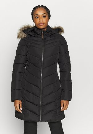 VELVA - Winter coat - black