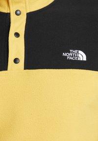 The North Face - GLACIER SNAP-NECK  - Bluza z polaru - yellow/black - 5