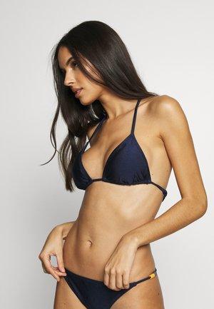TRUE TRIANGLE - Bikini top - midnight blue