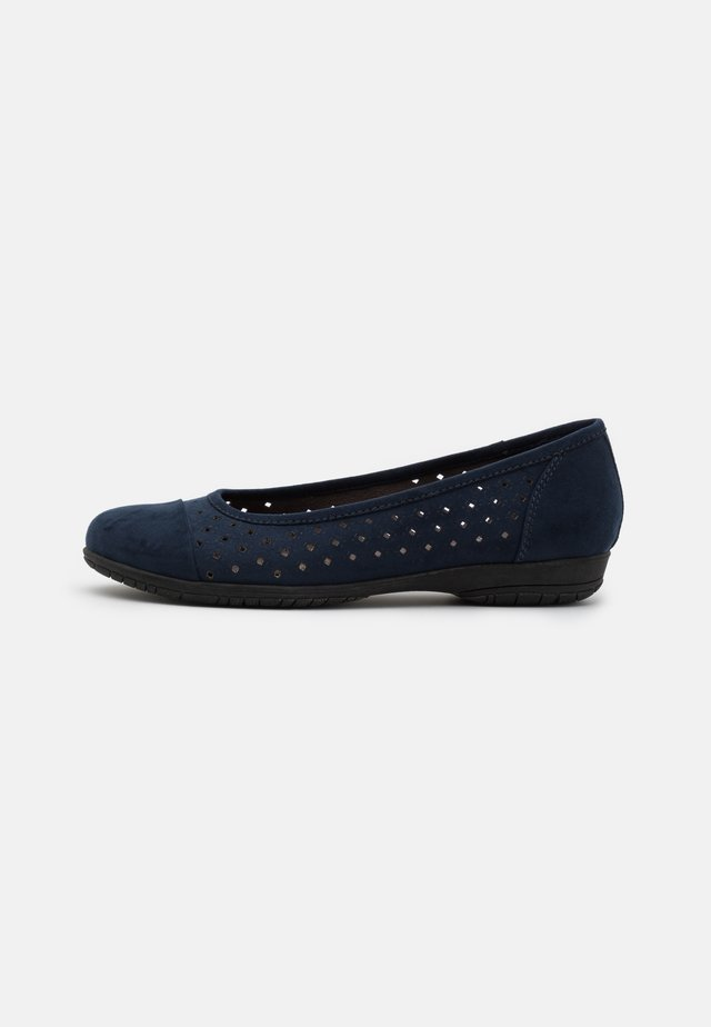 Ballet pumps - navy