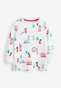 Next - 3 PACK LONDON BUS SNUGGLE PYJAMAS - Pyjama - red - 1