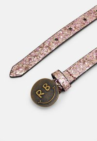 Scotch & Soda - GLITTER BELT WITH BUCKLE - Pásek - blush melange - 1