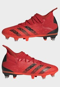 adidas Performance - PREDATOR FREAK - Moulded stud football boots - red - 5