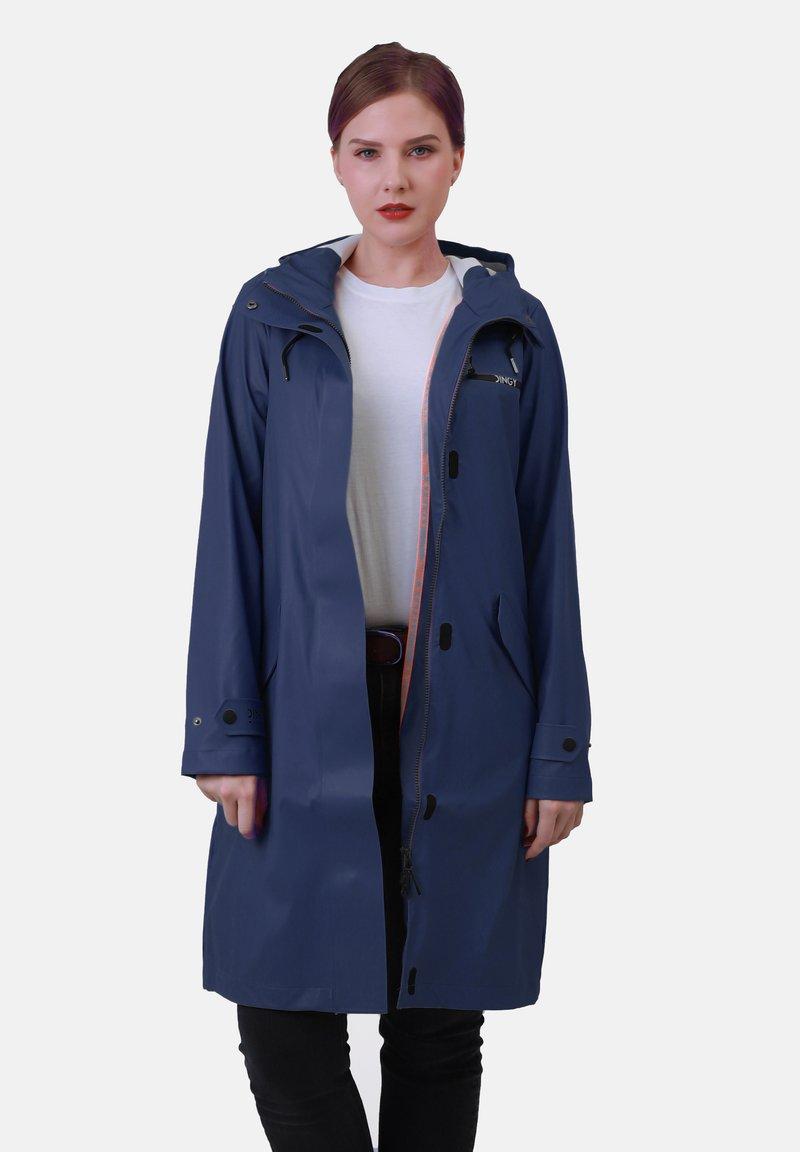 Dingy Rhythm Of The Rain - Waterproof jacket - marineblau