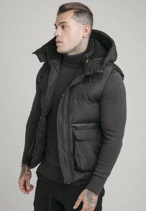 INSTINCT GILET - Waistcoat - black