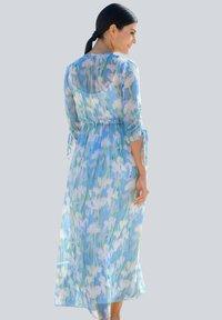 Alba Moda - Maxi dress - blau/off-white - 2
