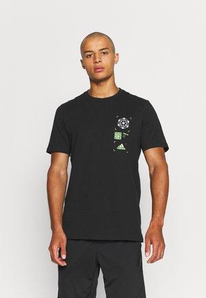 INNOV GRAPHIC 4D  - T-shirt med print - black