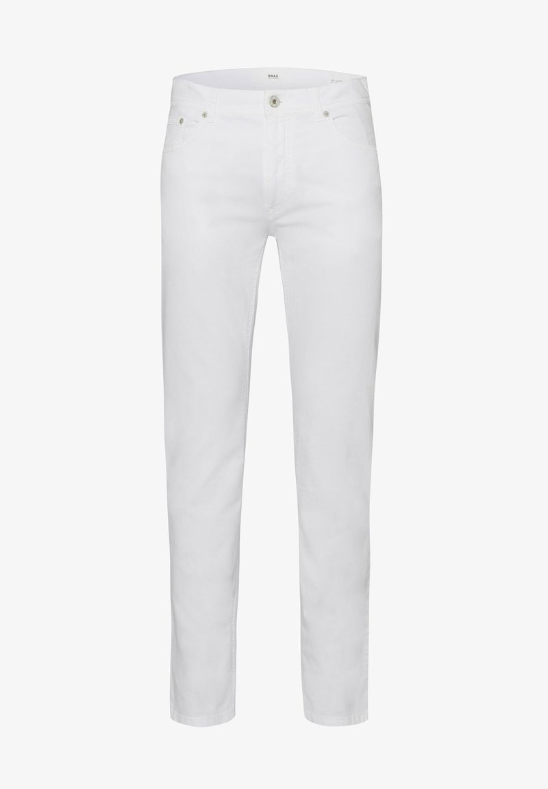 BRAX - STYLE COOPER FANCY  - Trousers - white