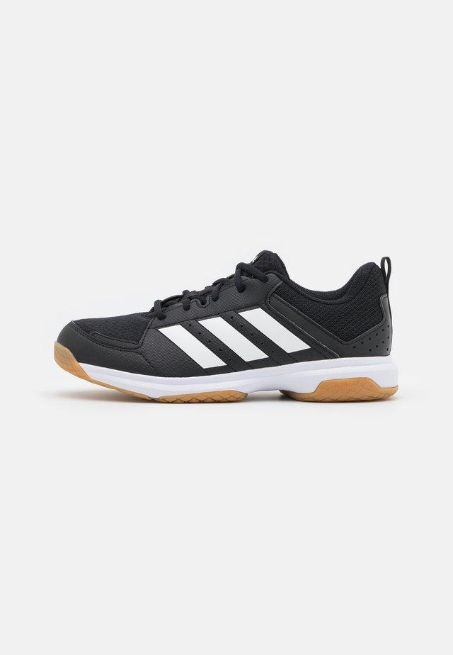 LIGRA 7  - Käsipallokengät - core black/footwear white