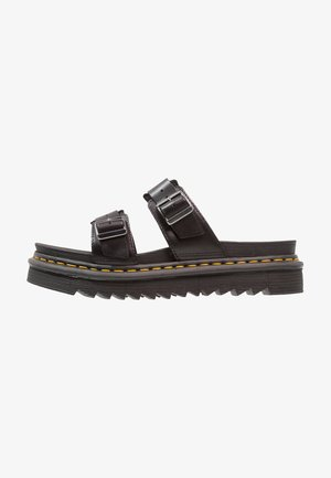 MYLES SLIDE - Mules - black