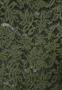 Rosemunde - T-SHIRT LS - Langærmede T-shirts - black green - 3