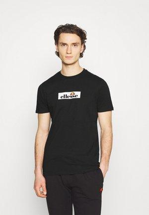 OMBRONO - Print T-shirt - black