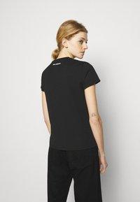 KARL LAGERFELD - IKONIK RHINESTONE  - Print T-shirt - black - 2