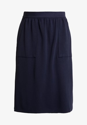 KURZ - A-line skirt - navy