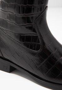 Scotch & Soda - OPAL MID BOOT - Vysoká obuv - black - 2