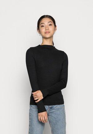 VMVIO HIGH NECK - T-shirt à manches longues - black