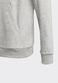 adidas Performance - BADGE OF SPORT ATHLETICS SWEATSHIRT HOODIE - Hoodie - grey - 6