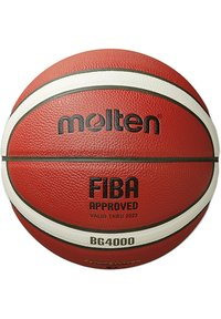 B5G4000 BASKETBALL - Equipement de basketball - orange / ivory
