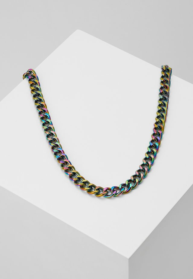 CHUNKY CHAIN NECKLACE - Necklace - multicolor