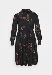 Vero Moda Petite - VMGALLIE DRESS - Shirt dress - black - 0