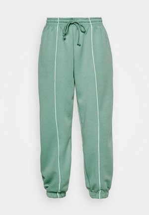 CLEAN SEAMED JOGGER - Tracksuit bottoms - sage