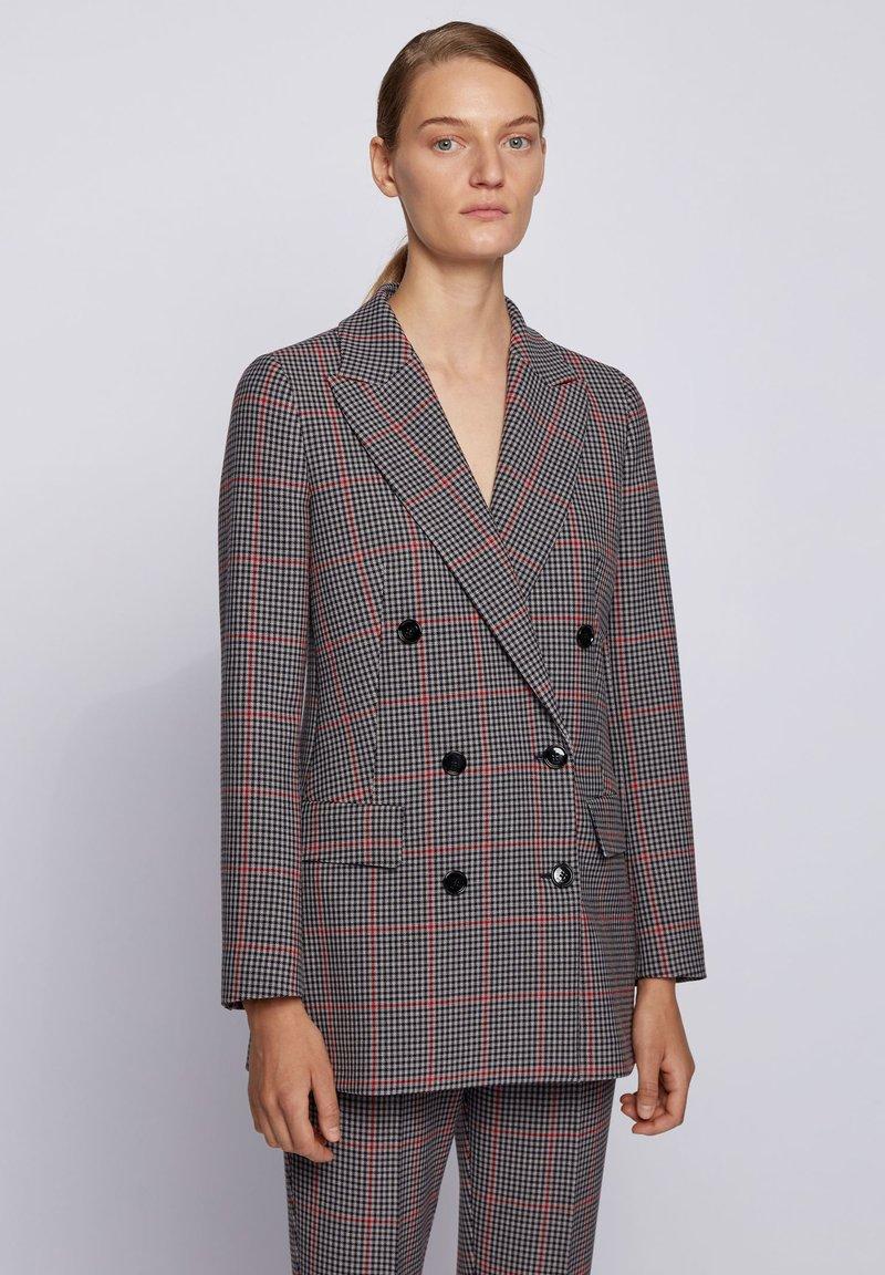 BOSS - Classic coat - patterned