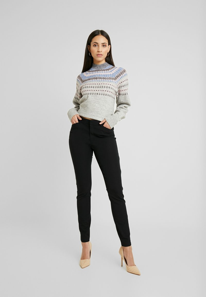 Gap Tall - ANKLE  - Kalhoty - true black