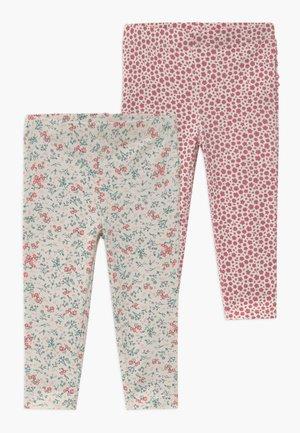 QUINN RUFFLE 2 PACK  - Leggings - Trousers - dark vanilla maude/very berry