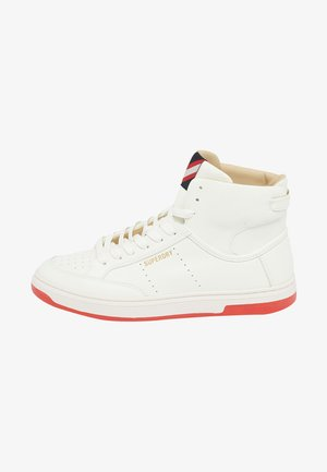 High-top trainers - off white
