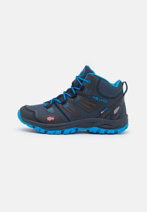 KIDS RONDANE MID UNISEX - Hiking shoes - navy/medium blue