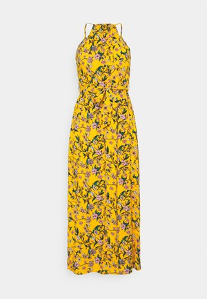 VMSIMPLY EASY SLIT MAXIDRESS - Day dress - saffron