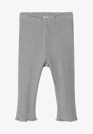 Leggings - Hosen - grey melange