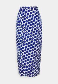 Diane von Furstenberg - CALANDRA SKIRT - Pencil skirt - true blue - 3