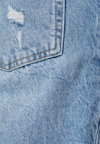 Bershka - VINTAGE  IM STRAIGHT-FIT MIT RISSEN - Džíny Straight Fit - blue denim - 5