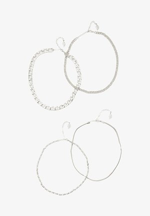 4 PACK - Necklace - grey