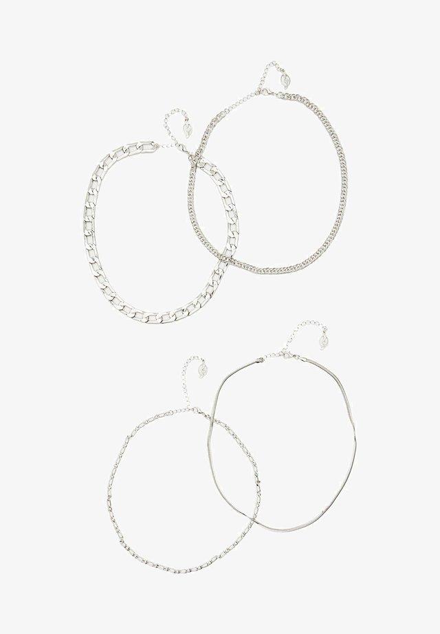 4 PACK - Halsband - grey