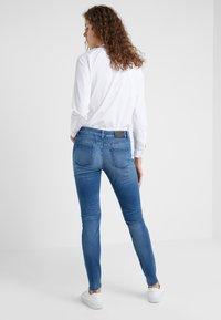 CLOSED - BAKER LONG - Jean slim - mid blue - 2