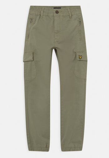 CASUAL - Cargo trousers - oil green