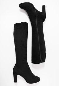 Unisa - NATALIE - Høje støvler/ Støvler - black - 3