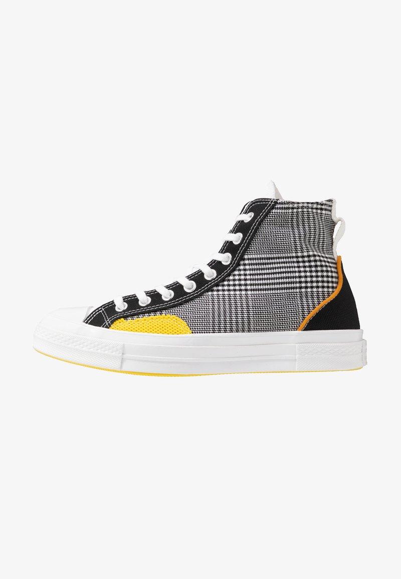 Converse - CHUCK TAYLOR ALL STAR - Høye joggesko - black/white/speed yellow
