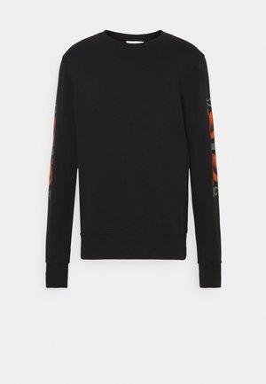 CORANZULI SLEEVE UNISEX  - Sweatshirt - black