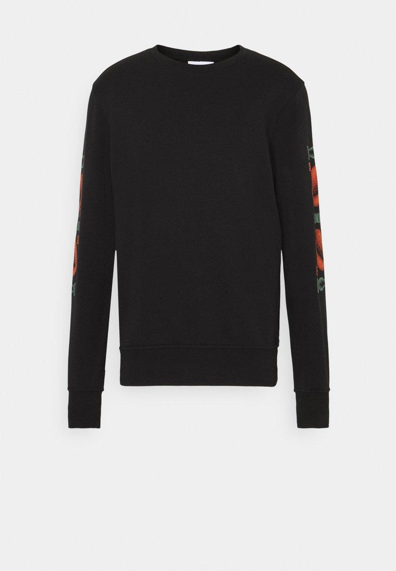 WAWWA - CORANZULI SLEEVE UNISEX  - Sweatshirt - black