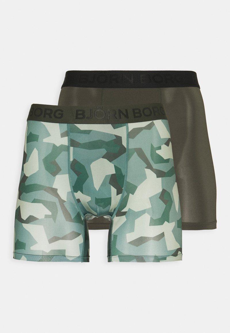 Björn Borg - NORDIC CAMO 2 PACK - Underkläder - rosin