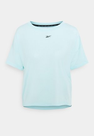 WORKOUT READY SUPREMIUM T-SHIRT - Basic T-shirt - light blue