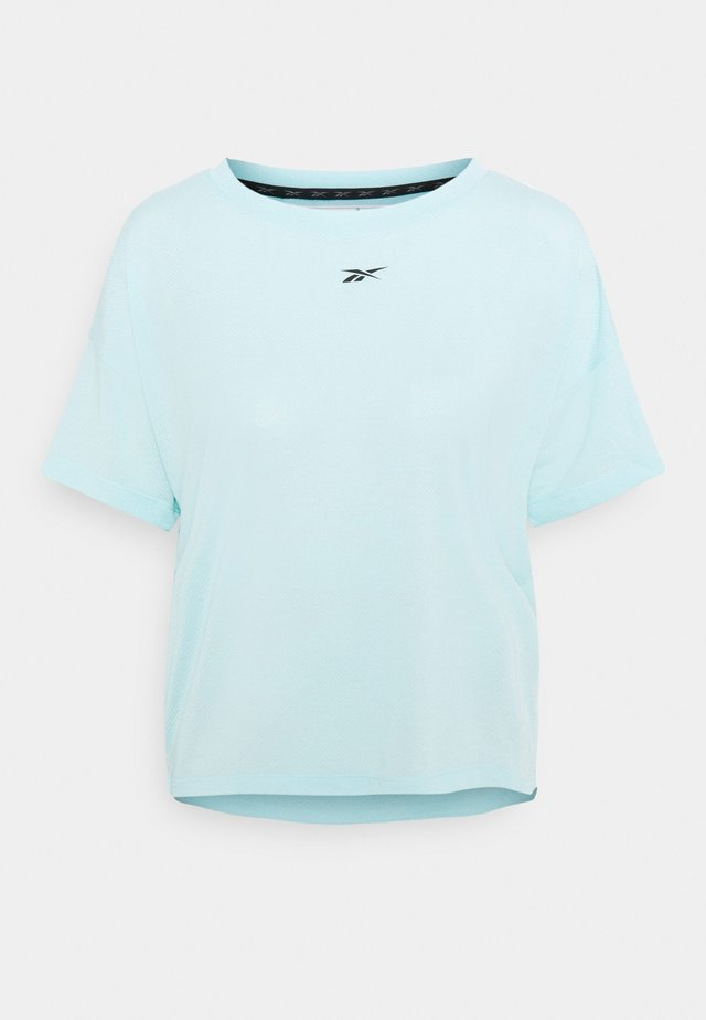 WORKOUT READY SUPREMIUM T-SHIRT - T-shirts - light blue