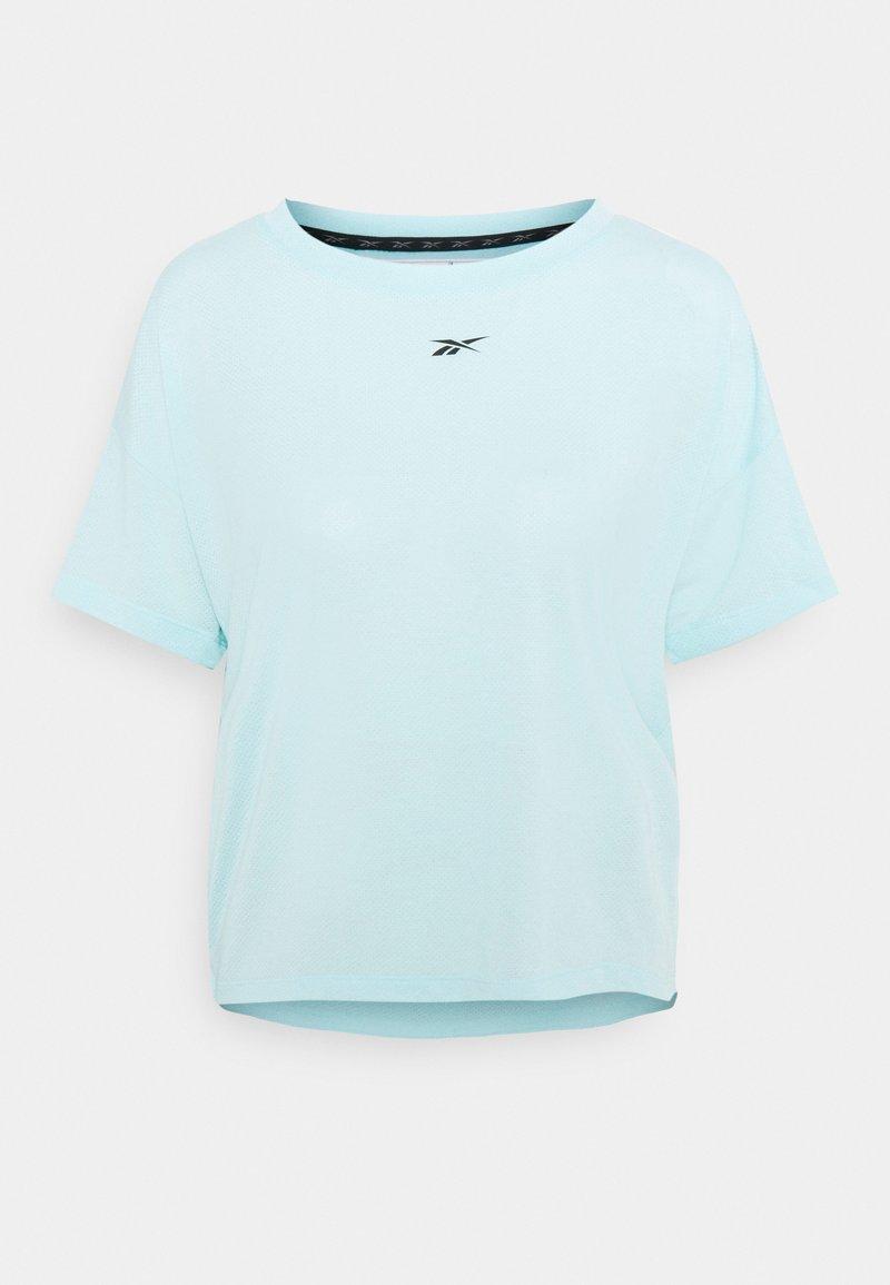 Reebok - WORKOUT READY SUPREMIUM T-SHIRT - T-Shirt basic - light blue