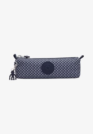 Trousse - triangle blue