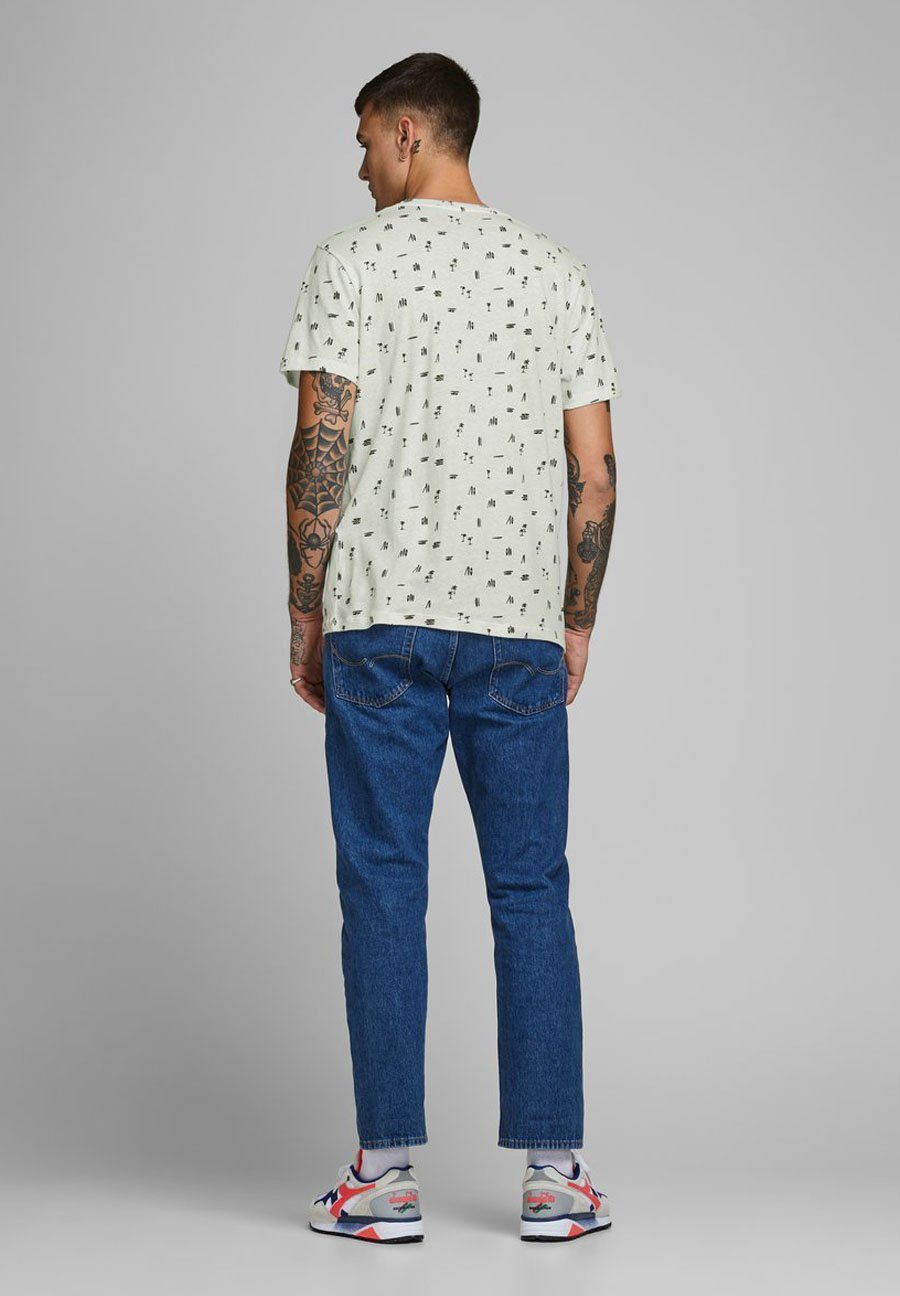 Jack & Jones Print T-shirt - cloud dancer bsA6q